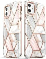 Apple iPhone 12 Pro Case Premium Marble Fashion Case Dual Layer Screen Protector