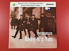 "NEW! THE BEATLES  ""BABY IT'S YOU"" 7"" EP APPLE NR 7243 8 58348 1 3 MONO 45RPM"