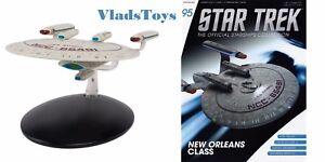 Eaglemoss Diecast Star Trek USS Kyushu NCC-65491 New Orleans Class #95 w/Mag