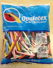 Qualatex Traditional Assortment 260Q  Balloon 100 ct.
