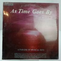 As Time Goes By A Parade of Musical Hits LP Record Album Vinyl New Sealed