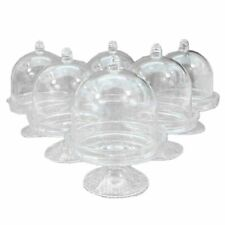 Mini Cup Cake Stand Clear Container For Wedding Anniversary Party Decor