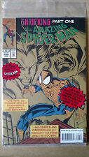 AMAZING SPIDER-MAN #390 POLYBAGGED WITH ANIMATED PRINT MARVEL COMICS (1994)