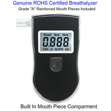 Advance Police Digital Breath Alcohol Tester Breathalyzer Analyzer Detector.