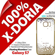X-Doria Ultra-Slim Protection Clear / Gold Case Cover for Samsung Galaxy S7