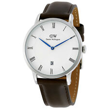 Daniel Wellington Dapper Bristol White Dial Mens Watch 1123DW