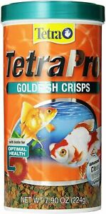 Tetra 77074 TetraPRO Goldfish Crisps for Fishes 7.9 oz (224 gr)