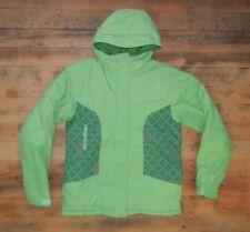 COLUMBIA Bright Green Warm INSULATED WINTER JACKET Ski Coat Sz Kid YOUTH 18/20