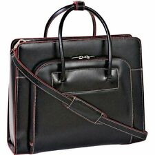 "McKlein USA Lake Forest 15.4"" Leather Ladies' Laptop Briefcase w/ Removable"