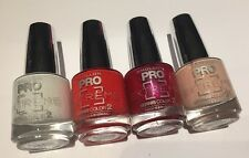 DESTOCKAGE MOLLON PRO @ LOT DE 4 VERNIS EXTREME NEUF ROSE, NUDE,... @ Neuf 35€
