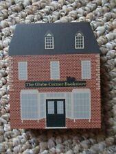 1990 Cat's Meow Village Globe Corner Bookstore Series Viii Retired