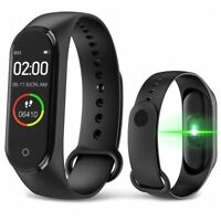 Smart Fitness Bluetooth Sport Armbanduhr Tracker Pulsmesser Android iOS iPhone