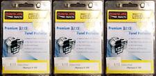 3 NEW Marumi Premium LCD screen protector for Olympus E-500 E500 camera