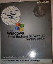 Microsoft Windows Small Business Server 2003 Standard Edition (5 User CALs)