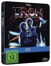 TRON (The Original) - Blu Ray Steelbook -