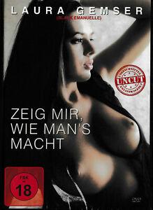 Zeig mir, wie man's macht - Laura Gemser (Black Emanuelle) FSK18 [DVD]  NEU+OVP!