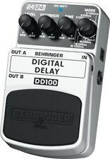 Behringer Digital Delay DD100 Echo Guitar Effect Pedal