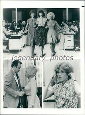 1980 Nine to Five Original Press Photo Printed 1983 Jane Fonda Dolly Parton