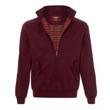 Abrigos y chaquetas de hombre rojos de poliéster talla M