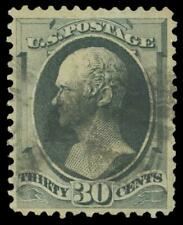 U.S. SCOTT #165 1873 30 CENT HAMILTON GRAY BLACK WITH PSE CERTIFICATE
