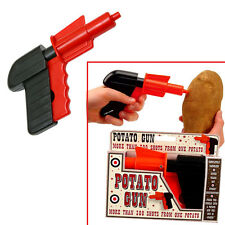 Classic Potato Spud Toy Gun For Kids Birthday Party Bag Filler Children'S Gift