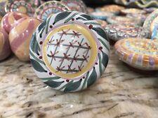 New Listing1 Mackenzie-Childs Pottery Drawer Pulls/Knobs Majolica Brighton Pavilion.