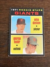 1971 TOPPS GEORGE FOSTER ROOKIE #276 GIANTS STAR EX-MT OR BETTER RC