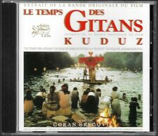 LE TEMPS DES GITANS - GORAN BREGOVIC (B.O.F SOUNDTRACK O.S.T) CD COMME NEUF