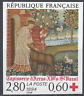 FRANCE CROIX ROUGE N°2915 TIMBRE NON DENTELÉ IMPERF 1994 - NEUF ** LUXE MNH