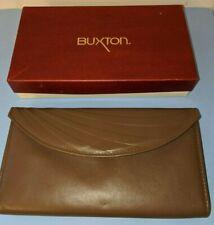 Ladies Buxton Bonanza Genuine Leather Wallet,Chocolate