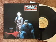MANFRED MANN'S EARTH BAND - Promo Copy SOMEWHERE IN AFRICA - LP BRONZE RECORDS