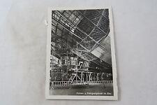 Postcard Deutschland Germany Zeppelin Luftschiff Führer- u Fahrgastgondel im Bau