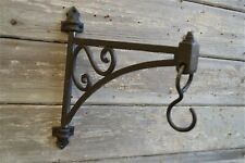 SOLID ANTIQUE STYLE PIVOT HANGING BRACKET LANTERN HANGING BASKET HOOK BL14