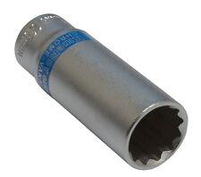 Douille de vissage 1/4 12 pans 13mm longue profonde qualité professionnelle CrV