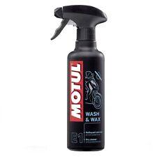 MOTUL E1 Wash & Wax PULITORE A SECCO E CERA PROTETTIVA MOTO E SCOOTER