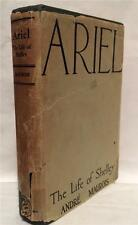 1936 ARIEL THE LIFE OF SHELLEY ANDRE MAUROIS