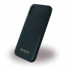 Guess Iridescent Collection iPhone X, iPhone Xs Back Case Cover Schwarz