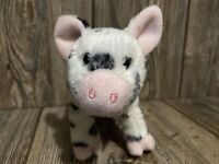 LEROY the Plush BLACK SPOTTED PIG Stuffed Animal - Douglas Cuddle Toys - #1541