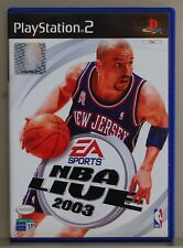 NBA LIVE 2003 - PLAYSTATION 2 - PAL ESPAÑA