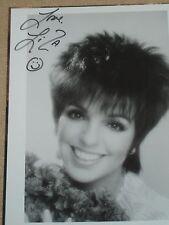 Liza Minnelli signed 8x10 photo