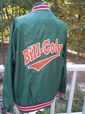 Bill Cody Farms Wilson Jacket Size XL Ringer Emo VintDeLong Greens DeLong Nylon