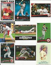2005 05 Topps Jacoby Ellsbury RC Boston Red Sox Lot New York Yankees