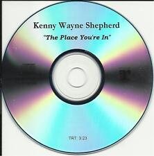 KENNY WAYNE SHEPHERD Place you're in PROMO DJ CD Single