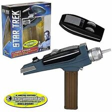 Star Trek Classic PHASER - Gold Hand+ Light + Sound - TOS neu ovp