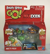 Angry Birds GO! Telepods Multi-Pack A6181 ~Exclusive Orange Bird & Mustache Pig