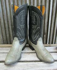 🔥  Exotic Snakeskin Men's Cowboy Boots 11 D USA Reptile
