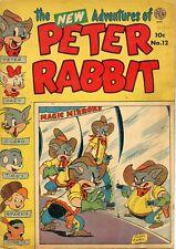 THE NEW ADVENTURES OF PETER RABBIT #12 AVON PUBLICATIONS 1952