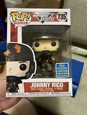 Funko Pop! Starship Troopers - Johnny Rico 2019 SDCC Limited Edition Brand New