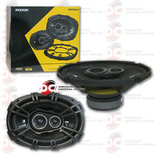 "BRAND NEW KICKER 6x9"" 3-WAY CAR AUDIO COAXIAL SPEAKERS (PAIR) 6 x 9 - INCH 360W"