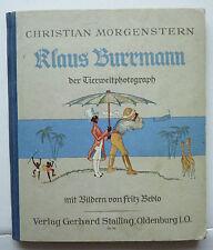 Christian Morgenstern – Klaus Burrmann der Tierweltphotograph, Bilder F. Beblo